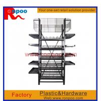 Buy cheap Supermarket display stand, Chain stores display racks, Standing Metal wire display, Custom wire countertop displays product