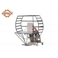 Buy cheap Automatic Strapping Binding Machine Blue Color For Corrugated Cardboard from wholesalers