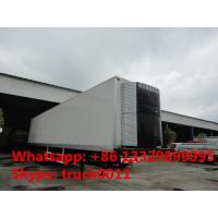 Buy cheap 40 foot tri-axle mobile refrigerated cargo container trailer, best price factory sale45tons freezer van semitrailer from wholesalers