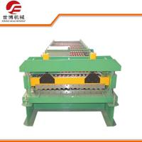 Buy cheap Galvanized Barrel Corrugated Sheet Roll Forming Machine PLC Full Automatic Control from wholesalers