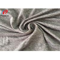 Buy cheap Polyester Melange 5% Spandex Weft Knitted Fabric For Jersey With Dry Fit from wholesalers