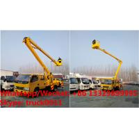 Buy cheap International Standard High Attitude Working Truck 18 to 22 meter High lifting platform truck, overhead working truck product