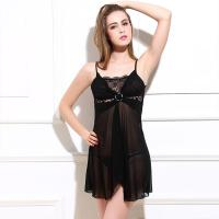 Buy cheap Transparent Hot Fashion Sexy Nylon Lingerie Babydoll Nighty Ladies Sexy Linigerie Sleepwear from wholesalers