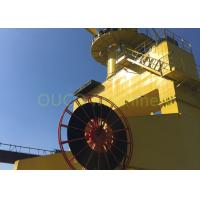 Buy cheap Electrical Marine Harbour Crane Long Range , Shipyard Port Machine Yellow from wholesalers