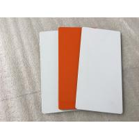 Buy cheap White / Sliver Outdoor Aluminum Sign Panels 4mm Thickness With Fire Resistance product