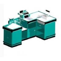 Buy cheap Beveled Retail Store Checkout Counters Anti - Slip Cargo Space Aluminum Border from wholesalers