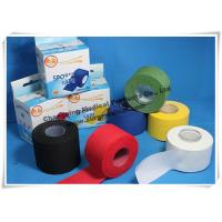Buy cheap Cotton Athletic Trainers Tape / Medical Adhesive Sport Injury Rigid Ankle Strapping Tape from wholesalers