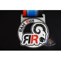 Buy cheap Village 10k Finisher Medals , Custom Diecast Medals For Running Events from wholesalers