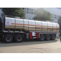 Buy cheap 2020s new wholesale price 60000L Stainless Steel Fuel Tanker trailer, Customized 60cbm diesle tanker semitrailer from wholesalers