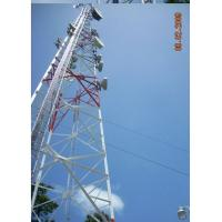 Buy cheap supply self-support telecommunication tower, tubular tower from wholesalers