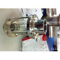Buy cheap ASTM A270 Sanitary Stainless Steel 304 Fittings Sight Glass For Chemical Industries from wholesalers