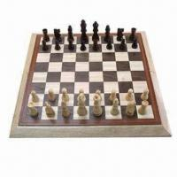 Buy cheap Wooden Chess Set, 3.5 inches, with Chess Board from wholesalers