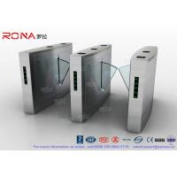 Quality Flap Barrier Gate Fingerprint Reader Turnstile Barrier Gate Acrylic Flap Barrier for sale