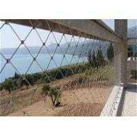 Buy cheap Hand Woven Stainless Steel Wire Rope Fence Mesh / Bird Netting Wire Mesh from wholesalers
