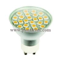 Buy cheap With Glass Cover High Lumen 24pcs Smd 3w Gu10 Led Lamp Spotlight Light from wholesalers