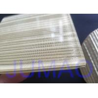 Buy cheap Wire Glass Metal Laminated Mesh Fabric With Brass Material As Inner Layer product