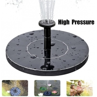 Buy cheap Free Standing 7V 1.5W Solar Birdbath Water Fountain from wholesalers