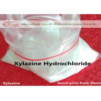 Buy cheap Xylazine Hydrochloride Anesthetic effect Compare CAS 23076-35-9 Pharmaceutical Intermediates Xylazine from wholesalers