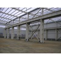 Buy cheap Algeria low cost steel structure workshop with crane from wholesalers