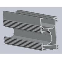 Buy cheap Silver Anodized Solar Roof Rail Drilling With Aluminum Alloy 6005 from wholesalers