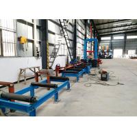 Buy cheap HZL-1500 Hydraulic Automatic Centering H beam Assembly Machine 1500mm Web Height from wholesalers
