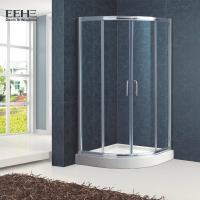 Buy cheap Polished Full Tempered Glass Shower Enclosure For Bath Good Insulating Properties from wholesalers