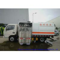 Buy cheap Truck Mounted Road Guardrail Sweeper For Road Fence  Cleaning With Brushes  1000L Water from wholesalers