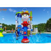 Buy cheap Indoor Fiberglass Water Park Slide Equipment Aquatic Play Units Custom Size from wholesalers
