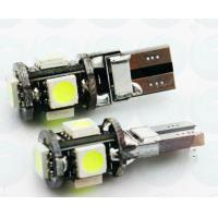 Buy cheap CANBUS GZ076 T10 1.5W 6500K 200lm 5-SMD 5050 LED White Light License Plate Lamps from wholesalers