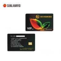 Buy cheap Colorful PVC contact IC card portable contactless smart card with chip from wholesalers