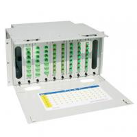 Buy cheap Self Locking 24 Core Fiber Optic Distribution Frame , Optical Fiber Patch Panel from wholesalers