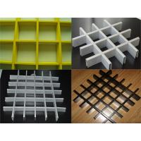 Buy cheap Customized Fabrication Open Cell Ceiling Tiles /  Aluminum Metal Grid Ceiling from wholesalers