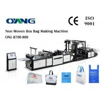 Buy cheap 35-100gsm Non Woven Carry Bag PP Bag Making Machine Max Bag Length 680cm from wholesalers