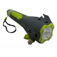 Buy cheap Versatile auto 8 in 1 Hand Crank Winding Dynamo Led Torch Flashlight, Survival Tool Kit from wholesalers