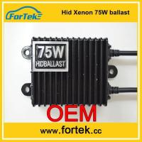 Buy cheap OEM design auto hid xenon Ballast 75W from wholesalers