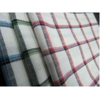 Buy cheap 55%LINEN 45%COTTON  YARN DYED   FABRIC WITH CHECKS   CWT#3214 from wholesalers