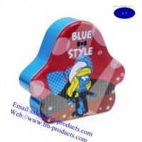 Buy cheap Different Blue style tin box, Gift Box from China Golden tin box from wholesalers