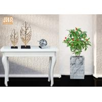 Buy cheap Fiberclay Plant Pots Marble Pot Planters Large Clay Plant Pots Square Floor Vases from wholesalers