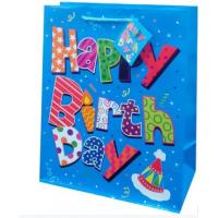 Buy cheap Fancy birthday paper material packaging bags gift bags from wholesalers