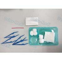 Buy cheap Delta Disposable Surgical Kits , Surgical Wound Dressing Pack With Yellow Bag Cotton Ball from wholesalers