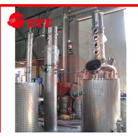 Buy cheap 500L Semi-Automatic Copper Distillation Column , Vodka Distillation Kit from wholesalers