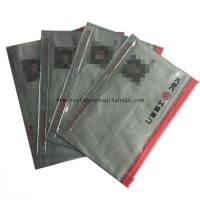 Buy cheap eco- friendly plastic stand up pvc zipper bag for document receipt card packaging from wholesalers