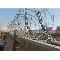 Buy cheap CBT65 Stainless Steel Razor Barbed Wire , 2.5mm Razor Blade Wire For Railway from wholesalers