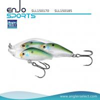 Buy cheap Angler Select Fishing Tackle School Fish Lipless Shallow Fishing Lure with Bkk Treble Hooks (SLL150170) from wholesalers