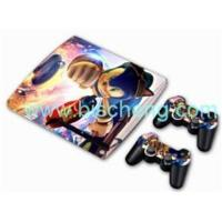 Buy cheap PS3 Slim Epoxy skin sticker with 2pcs remote controller skin from wholesalers