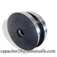 Buy cheap Aluminum-Zinc metalized polypropylene film with heavy edge for capacitors from wholesalers