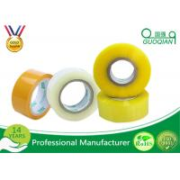 Buy cheap 80M Length Clear Water Resistant Bopp Adhesive Tape High Temperature from wholesalers