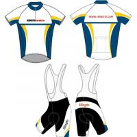 Buy cheap short-sleeved Sublimated Cycling Wear, Biking Jersey and Bib Shorts Cool Dry from wholesalers