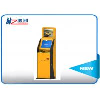 Buy cheap 300 Cd/m2 Self Service Check In Kiosk Capactive LED touch screen with Receipt from wholesalers