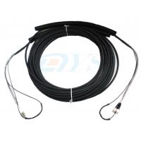 Buy cheap Pulling Eye Pre-terminated Optical Fiber Patch Cord , Multimode Fiber Patch Cable from wholesalers